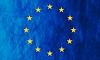 Europäische Union Grunge Flagge