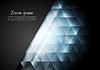 Векторный клипарт: Синий блестящий технологии фон