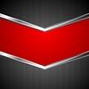 Векторный клипарт: Абстрактные технологии фон с металлическими полосами