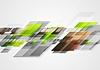 Векторный клипарт: Яркий привет технологий абстрактный дизайн
