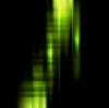 Векторный клипарт: Концептуальная темный фон зелеными полосами