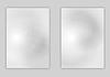 Векторный клипарт: Минимальная светло-серый дизайн флаера