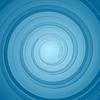 Abstrakt blau Hintergrund mit Kreisen