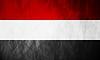 Republik Jemen-Grunge-Kennzeichen