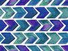 Векторный клипарт: Бесшовные Акварель геометрическим рисунком со стрелками