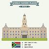 Rathaus. Cape Town, Südafrika