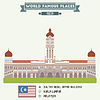 Sultan Abdul Samad Building. Kuala Lumpur, Malaysia