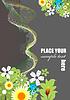 Векторный клипарт: Цветок с ромашкой изображения
