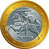 lithuanian Euro Goldmünze Geld