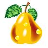 Векторный клипарт: Спелые груши