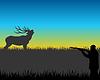 Jagd auf Hirsche