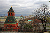 Tower on Red Square Moscow Russia | Stock Foto
