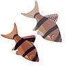 Векторный клипарт: Рыбы Аквариум экзотическая