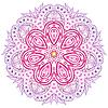 Векторный клипарт: цветочный орнамент