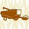 Kombinieren Harvester-