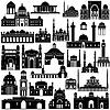 Векторный клипарт: Архитектура Азиатско