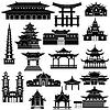 Векторный клипарт: Архитектура Восток
