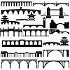 Векторный клипарт: Архитектура. Мосты