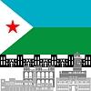 Векторный клипарт: Джибути