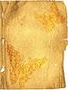 Векторный клипарт: Побитый старая страница бумага