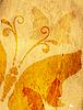 Векторный клипарт: Старые желтые пятнистые бумаги