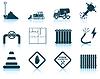 Set von Bau-Symbol