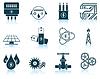 Satz von Energie-Symbole