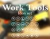 Arbeitswerkzeuge Icon-Set