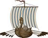 Schlacht Wikingerschiff