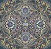 floralen Design orientalischen Muster Hintergrund