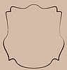 Wappenschild Grenz Label