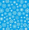 Neujahrs blaue Tapete, Schneeflocken Textur