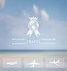 Design der Website für Luftfahrtunternehmen -. Corporat