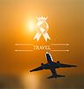 Gestaltung von Karten für weltweite Reisen. Firmen-