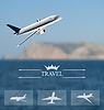 Gestaltung von Karten für weltweite Reisen. Handy
