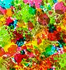 Векторный клипарт: Абстрактный фон гранж, красочные размывает