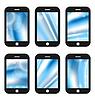 Векторный клипарт: Абстрактный заставки для мобильных телефонов приложение с
