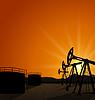 Öl-Pumpe Jack für die Erdöl-und Reservetanks auf