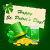 St. Patrick `s Day Hintergrund