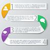 Векторный клипарт: Работа в команде социального инфографики, диаграммы, презентации