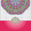 islamic Jahrgang Blumenmuster
