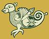 authentischen dekorativen keltischen Vogel