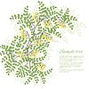 Векторный клипарт: acaSpring открытка с абстрактным