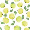Векторный клипарт: модели с зелеными яблоками