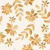 Векторный клипарт: золото осенних листьев