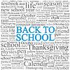 Векторный клипарт: новый учебный год