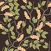Векторный клипарт: шаблон с абстрактными ягод
