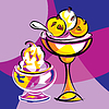 Векторный клипарт: сладкий десерт