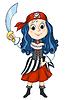 Pirat Mädchen