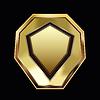Векторный клипарт: Золотая рамка
